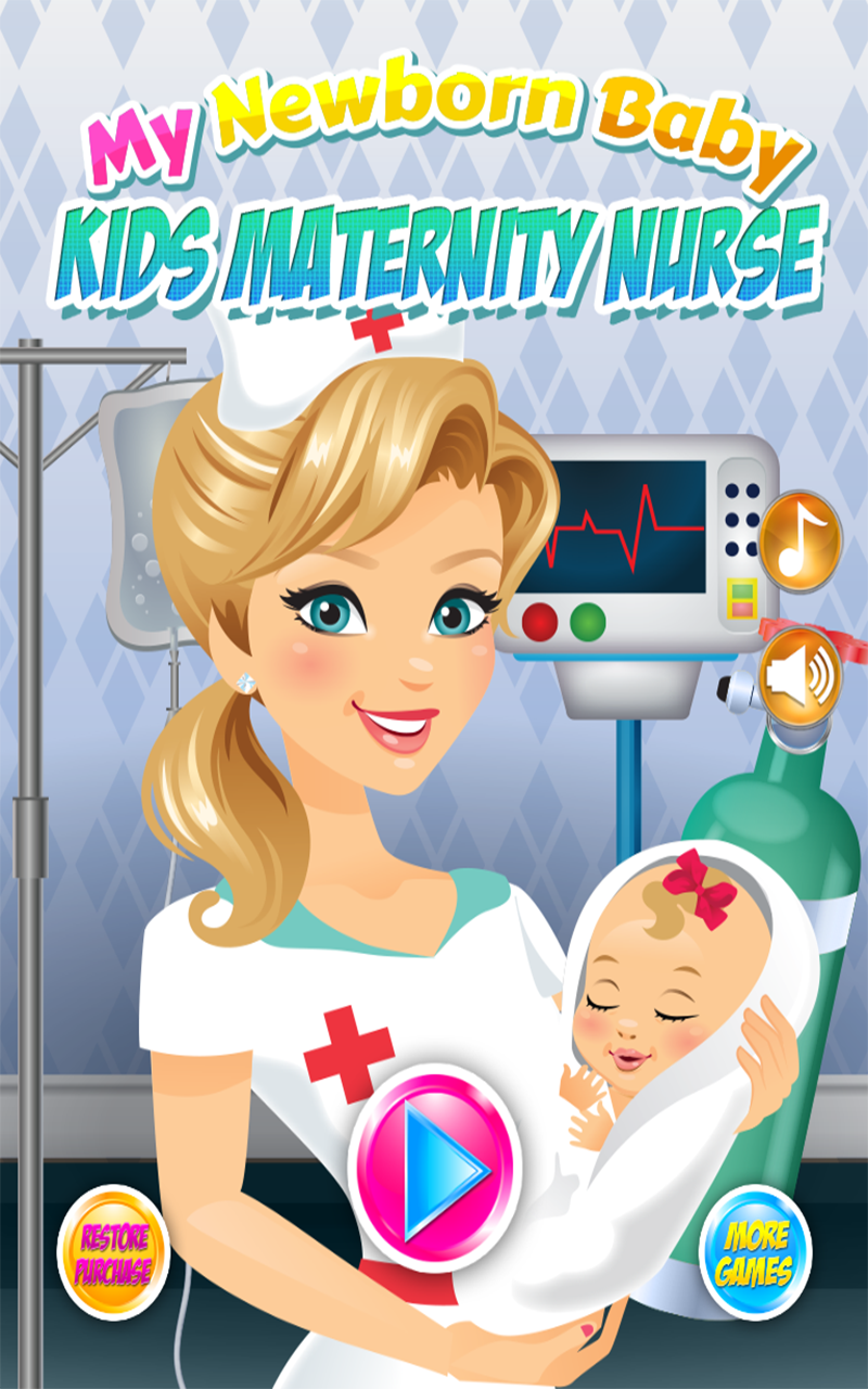 My Newborn Baby Maternity Nurse Pregnancy Games Kids