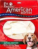 Pet Factory American Beefhide Chews 28322 Rawhide