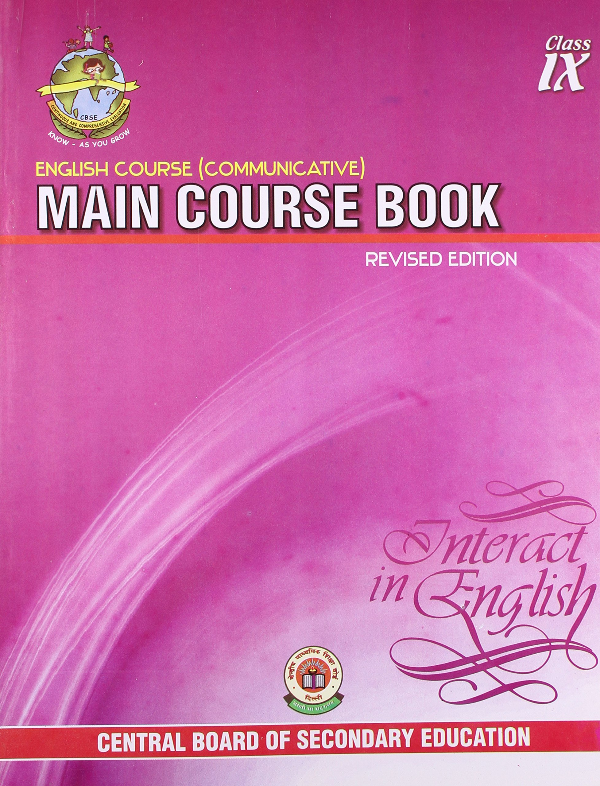 English Course Communicative: Main Course Book Interact in English - Class 9:  Amazon.in: Books