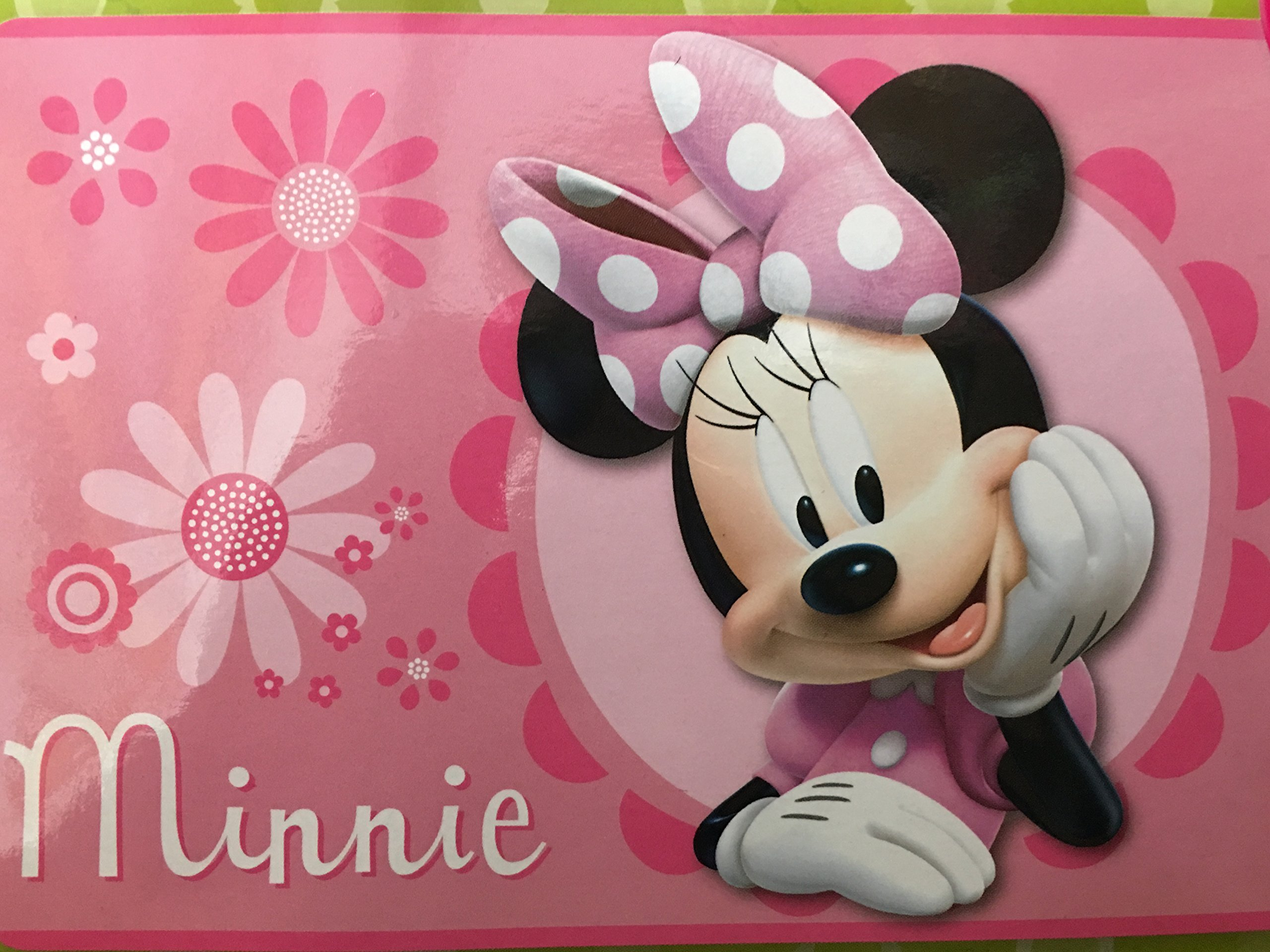 Disney All New Marvel 54'' x 80'' Super Soft Area Rug with Non Slip Backing (Minnie)
