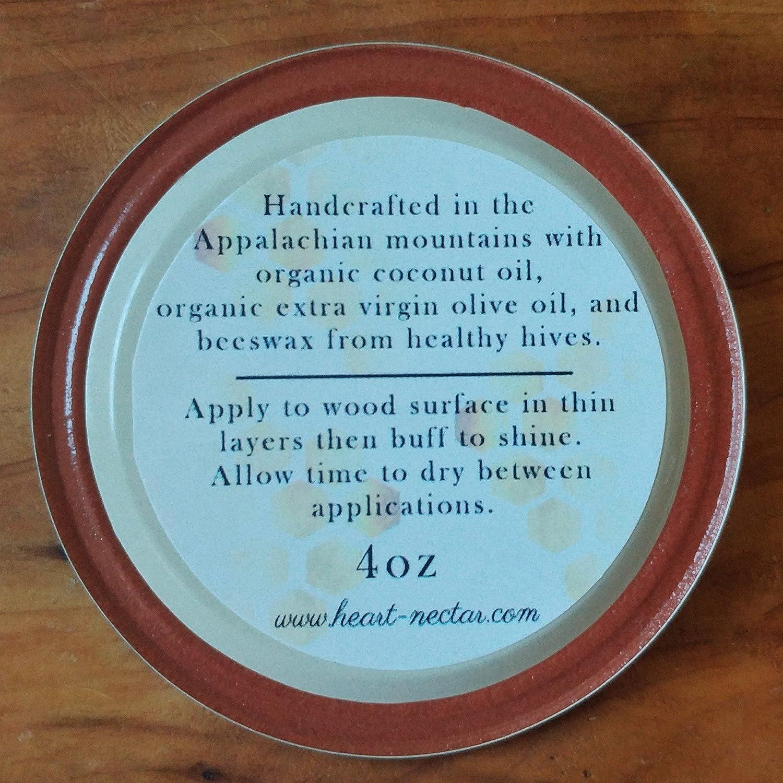 Amazon.com: Beeswax Wood Polish and Sealant ~ organic ~ unscented ...