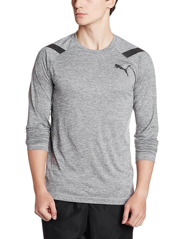 Puma Herren Bonded Tech Ls Tee Langarm Shirt