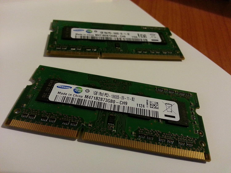Samsung 1GB DDR3 RAM PC3-10600 204-Pin Laptop SODIMM