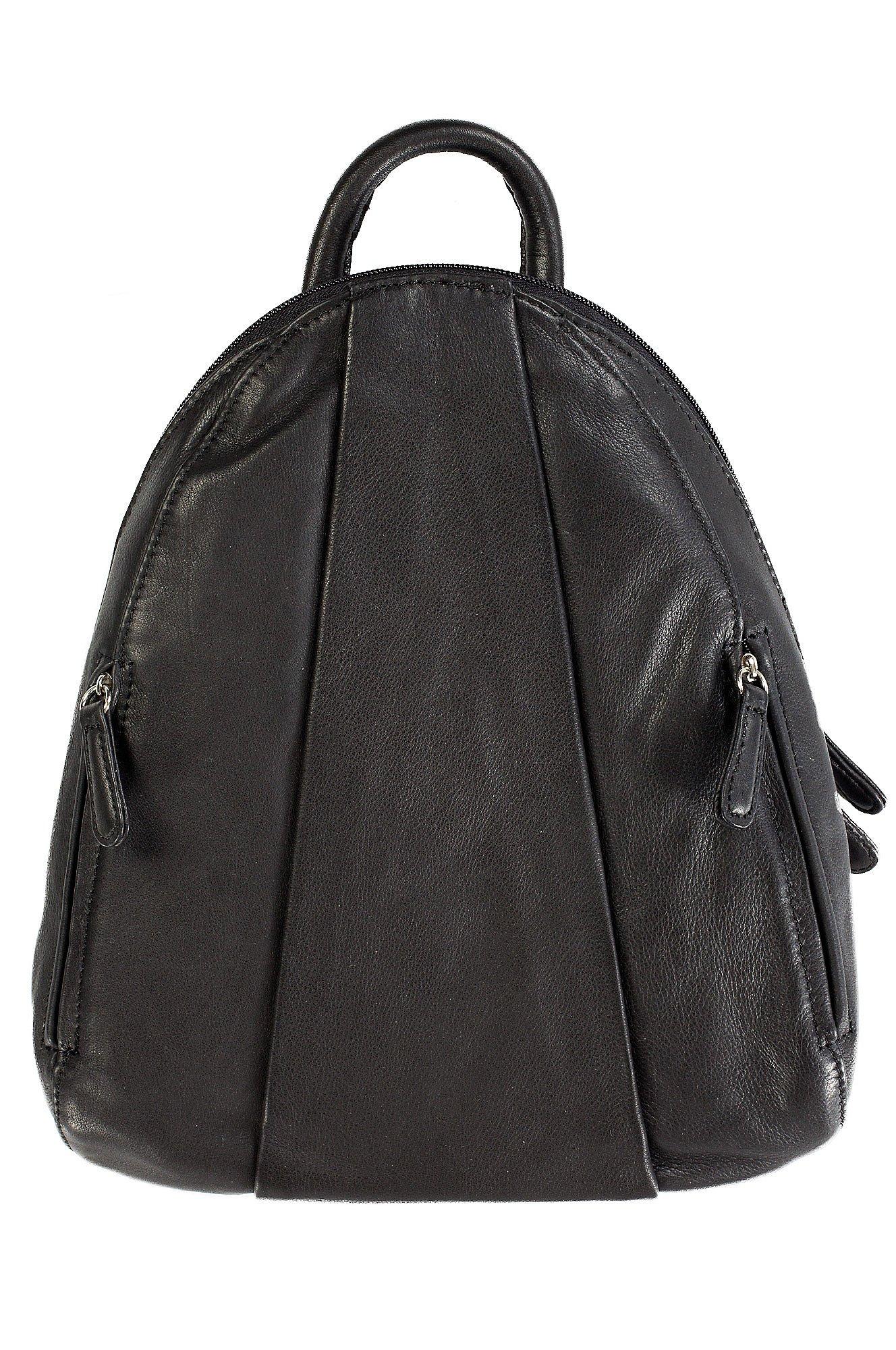 Women's Osgoode Marley Teardrop Leather Backpack Handbag,1 M US,Black