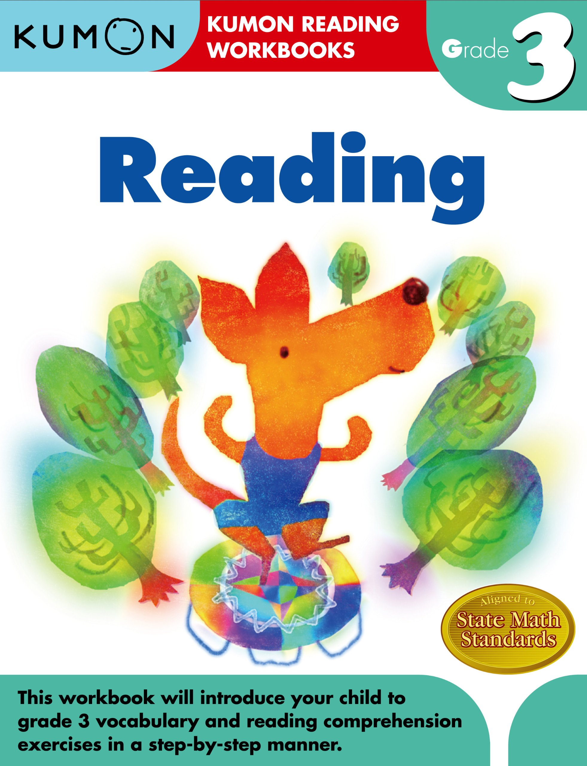 Printables Kumon Reading Worksheets amazon com grade 3 reading kumon workbooks 9781934968772 publishing books