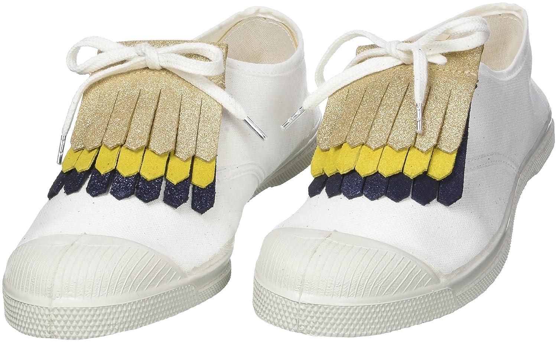 Bensimon TRIPLETTES Bijoux de chaussures, Multicolore (or Doré/Jaune/Mari) One Size F00012C33118