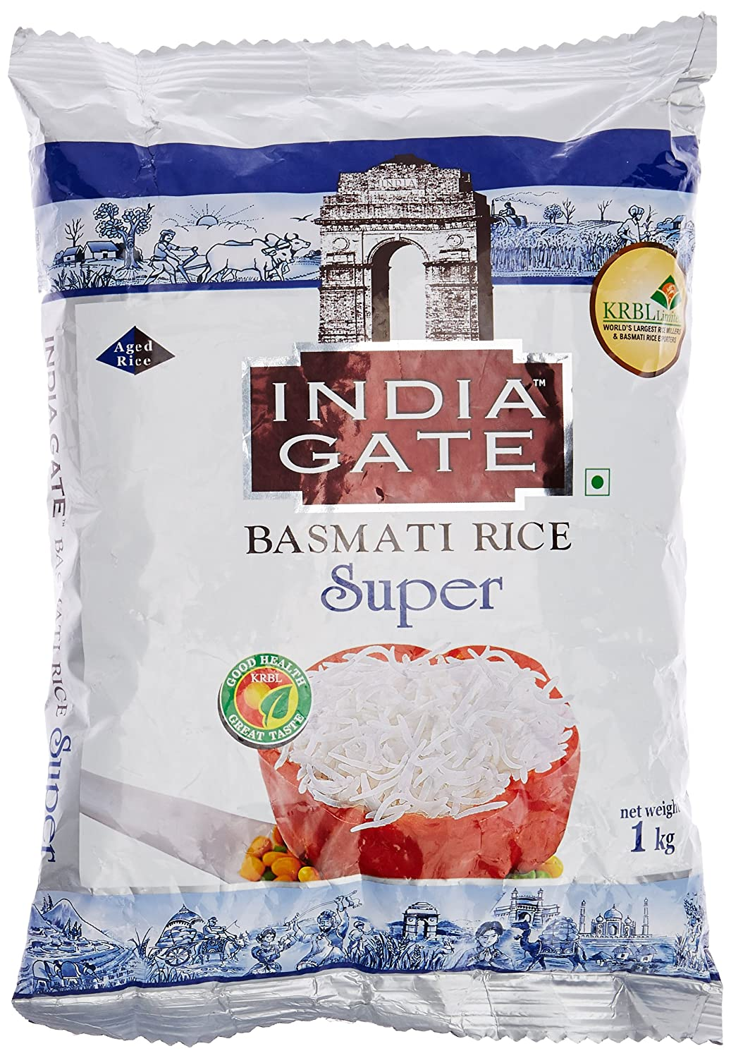 India Gate Basmati Rice Super, 1kg: Amazon.in: Grocery & Gourmet Foods