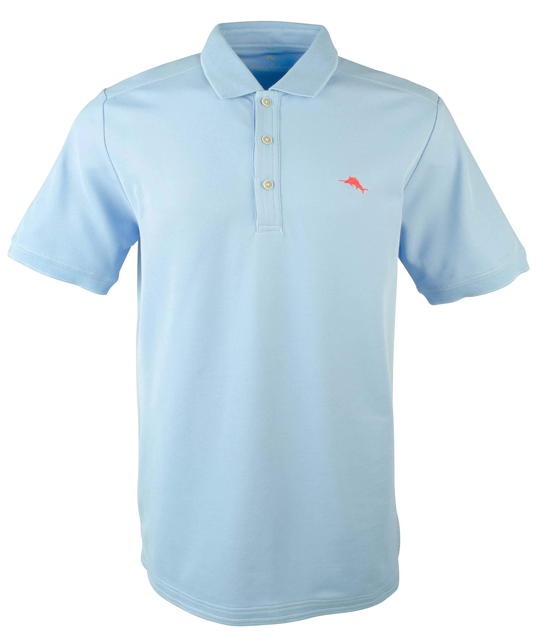 Tommy Bahama Men's Big and Tall Emfielder Polo Shirt-LS-XXLT