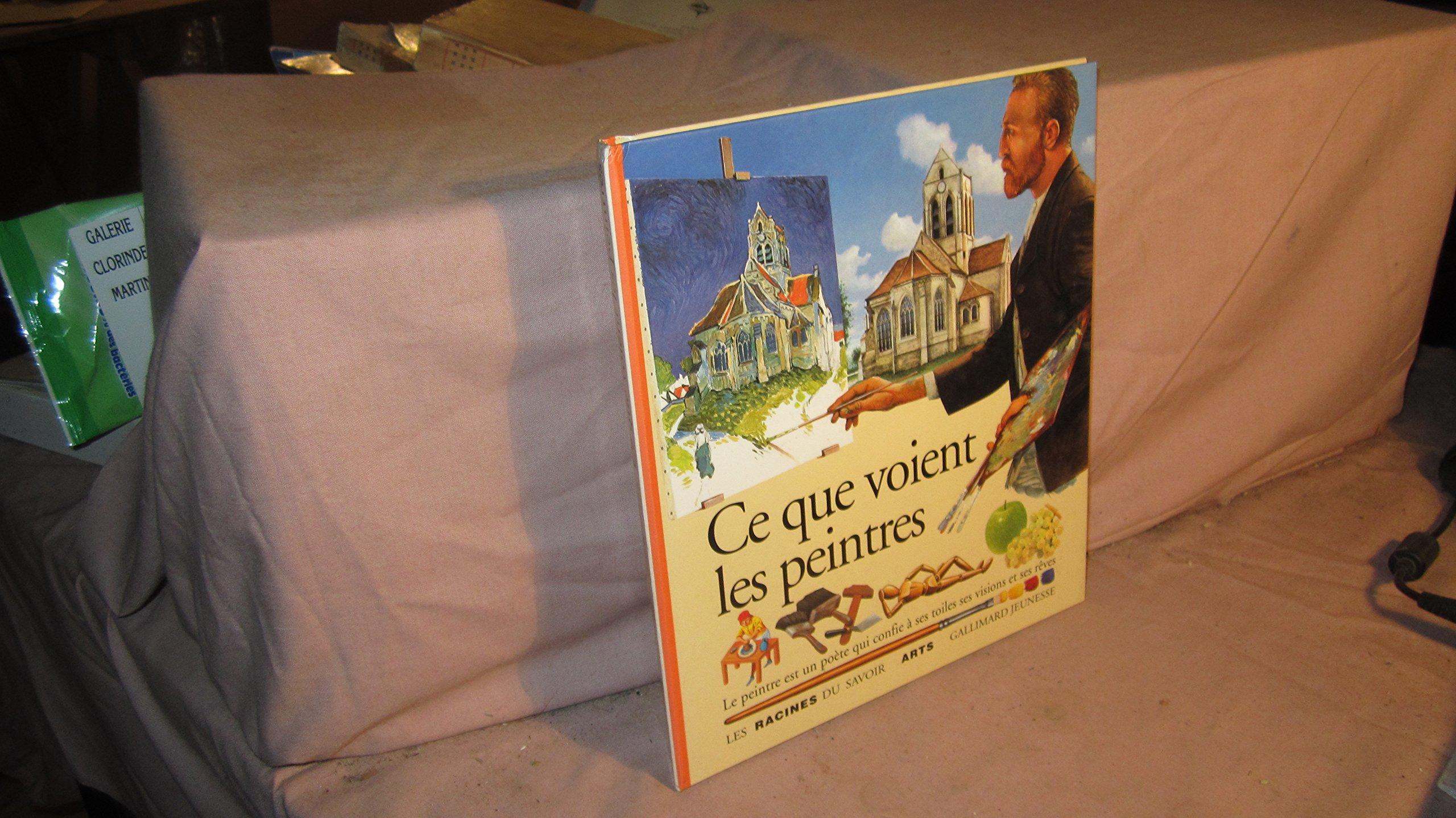 Ce que voient les peintres Album – 27 février 1995 Laurence Ottenheimer-Maquet Gallimard-Jeunesse 2070583848 Composition (Art)