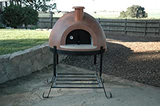 product image for Forno Bravo Primavera 70 Outdoor Wood Fired Pizza Oven (Red)