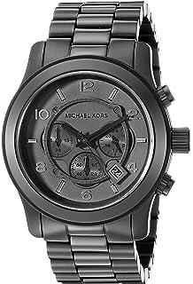b1e9de9458b6 Amazon.com  Michael Kors Men s Bradshaw Black Watch MK5550  Michael ...