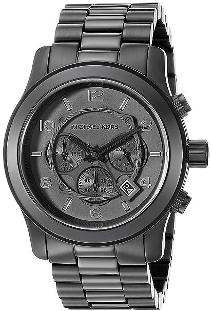 fc50fd447daf Michael Kors Men s MK8157 Runway Black Watch  Michael Kors  Amazon.ca   Watches