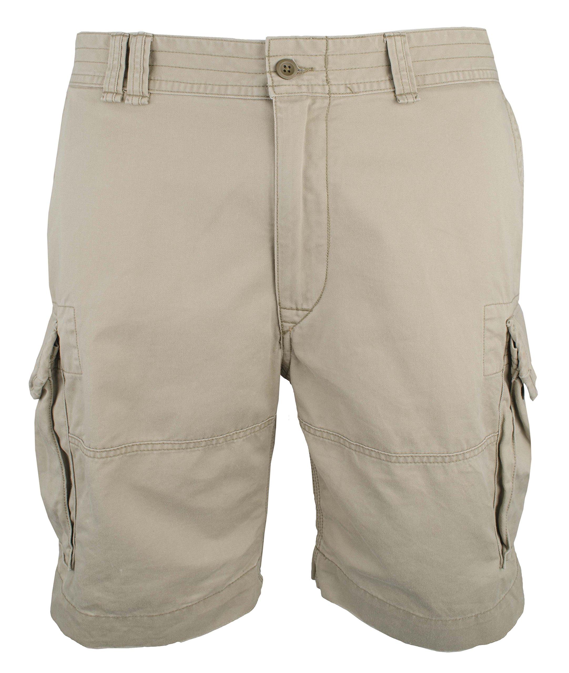 Polo Ralph Lauren Men's Big And Tall Gellar Cargo Shorts, Hudson Tan, 50B