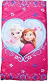 Disney Frozen Anna and Elsa Slumberbag, 30 X 54, Pink
