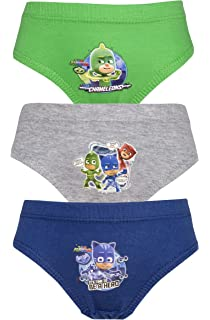 Cartoon Character Products 3 Pack Boys PJ Masks Pants/Briefs Various Designs