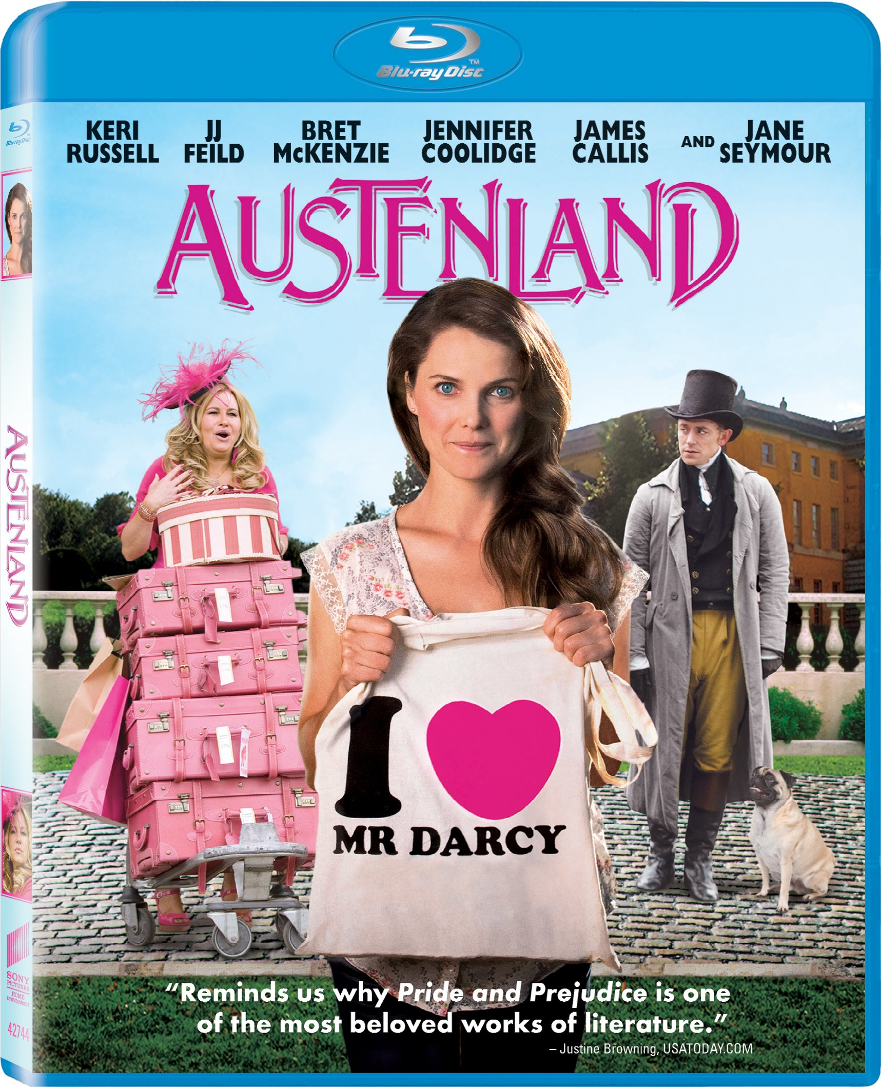 Blu-ray : Austenland (Dolby, Widescreen, AC-3)