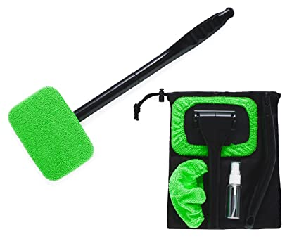 Microfiber Windshield Cleaner Full Werk Multipurpose Car Duster Auto Gl Window Brush With Long Handle And