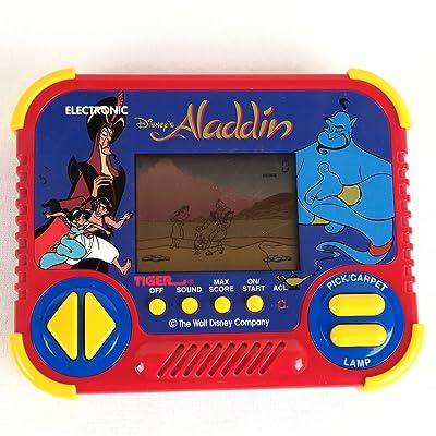 Vintage ALADDIN ELECTRONIC HANDHELD LCD Game (1990): Toys & Games