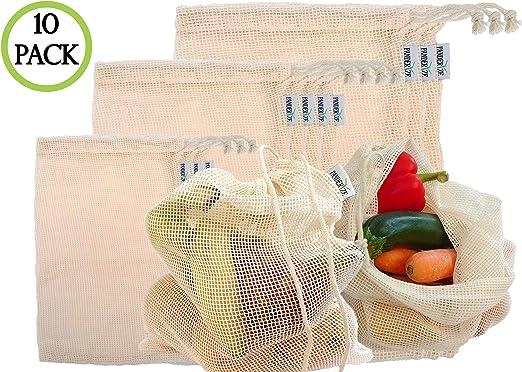 Panderize® Bolsas de supermercado reutilizables Bolsas de compras ...