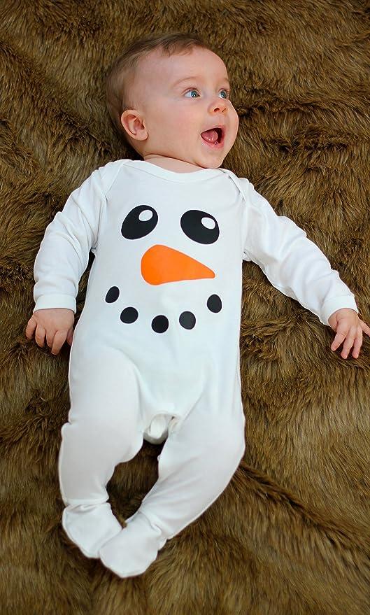 Lindo muñeco de nieve Baby para niño/de Navidad ropa de bebé/bebé de