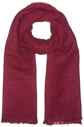 Benetton 6HWED52B7, Echarpe Femme, Rose (Cherry), OS(UK)  Amazon.fr   Vêtements et accessoires 24c58c3bb0e