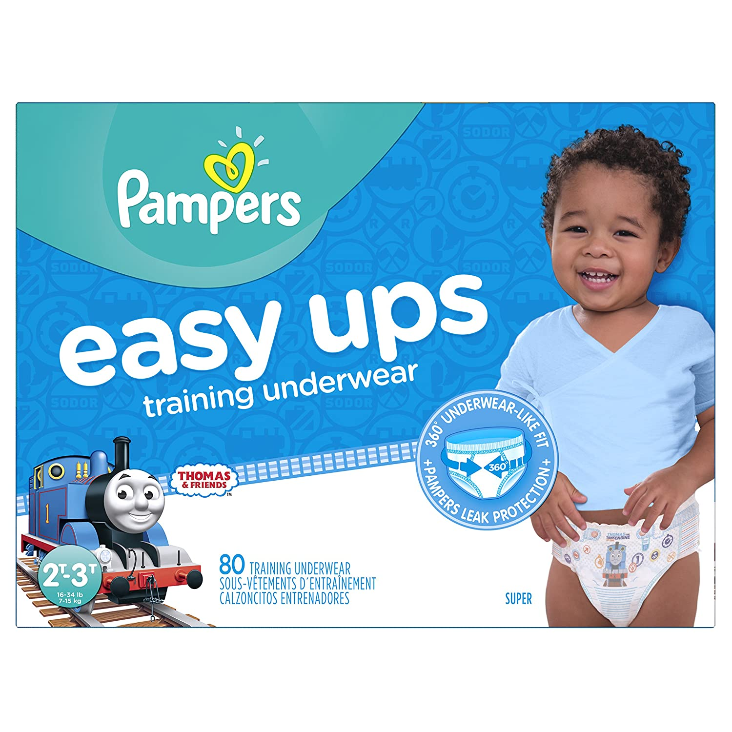 Amazon pampers easy ups training pants pull on disposable amazon pampers easy ups training pants pull on disposable diapers for boys size 4 2t 3t 80 count super health personal care nvjuhfo Image collections