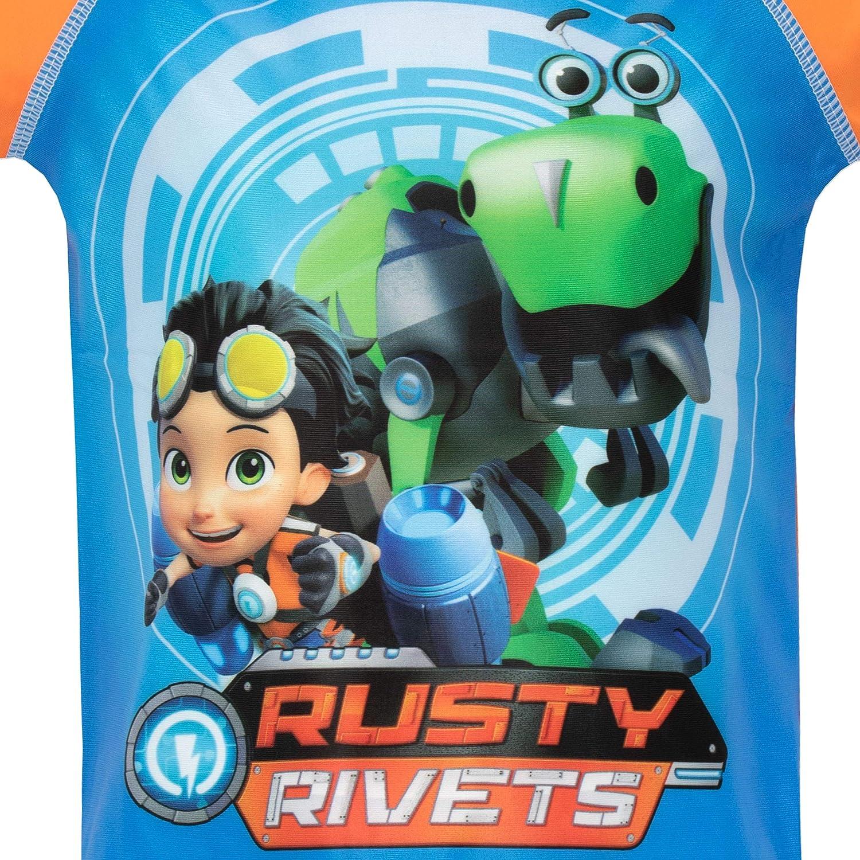 Rusty Rivets Boys Two Piece Swim Set