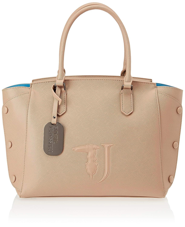 Beige Trussardi Jeans Women's 75b004519y099999 Tote Bag