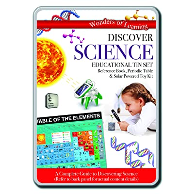 Wonders of Learning Science Tin Set- Fun Way to Explore Science: Toys & Games