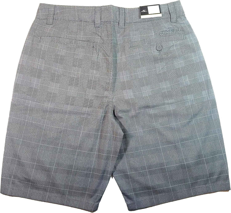 ONeill Stretch Plaid Walk Short Grey, 38