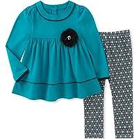 Kids Headquarters Baby-Girls Tunic Legging Set Pants Set