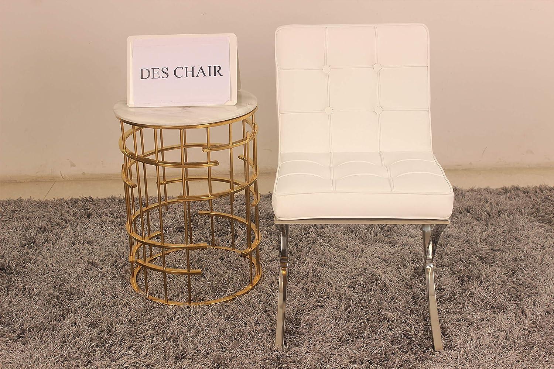 Barcelona Premium Dining Chair Set of 2 Black