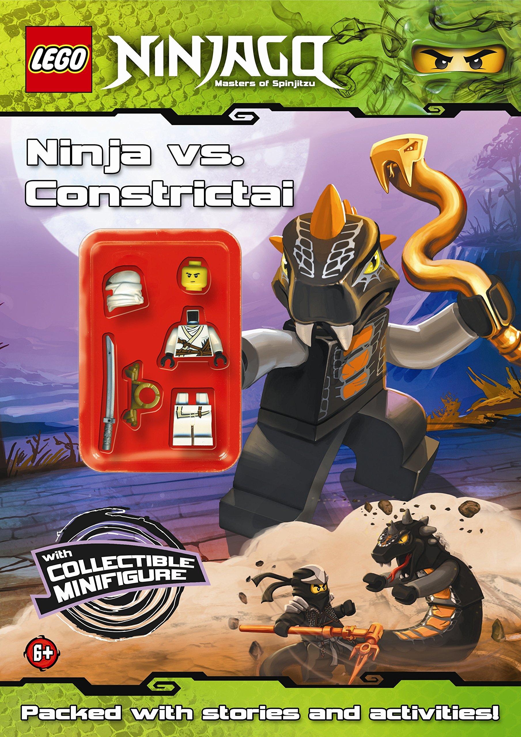 LEGO Ninjago: Ninja vs Constrictai Activity Book with ...