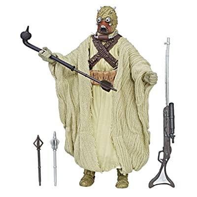 Star Wars: Episode IV The Black Series Tusken Raider, 6-inch: Toys & Games