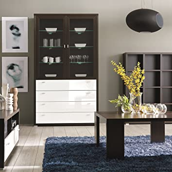 Moderne Wohnwänd Wohnzimmerschrank Wohnzimmer Möbel: Elegantes Möbel ...