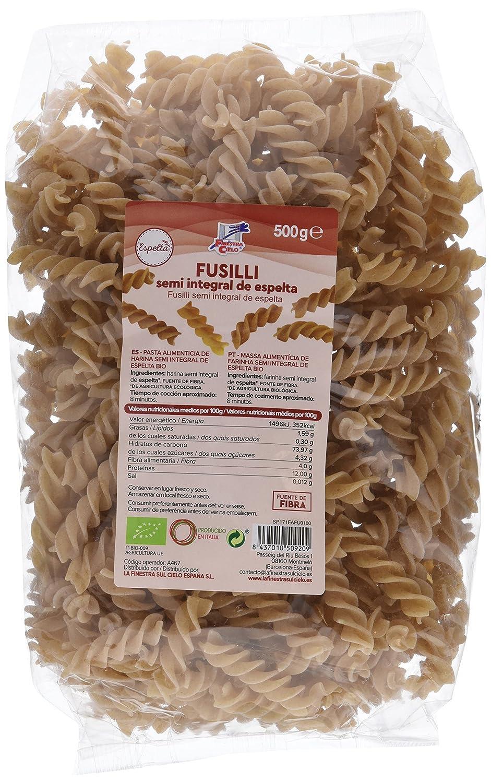 La Finestra Sul Cielo Fusilli de Espelta - 6 Paquetes de 500 gr - Total: 3000 gr: Amazon.es: Alimentación y bebidas