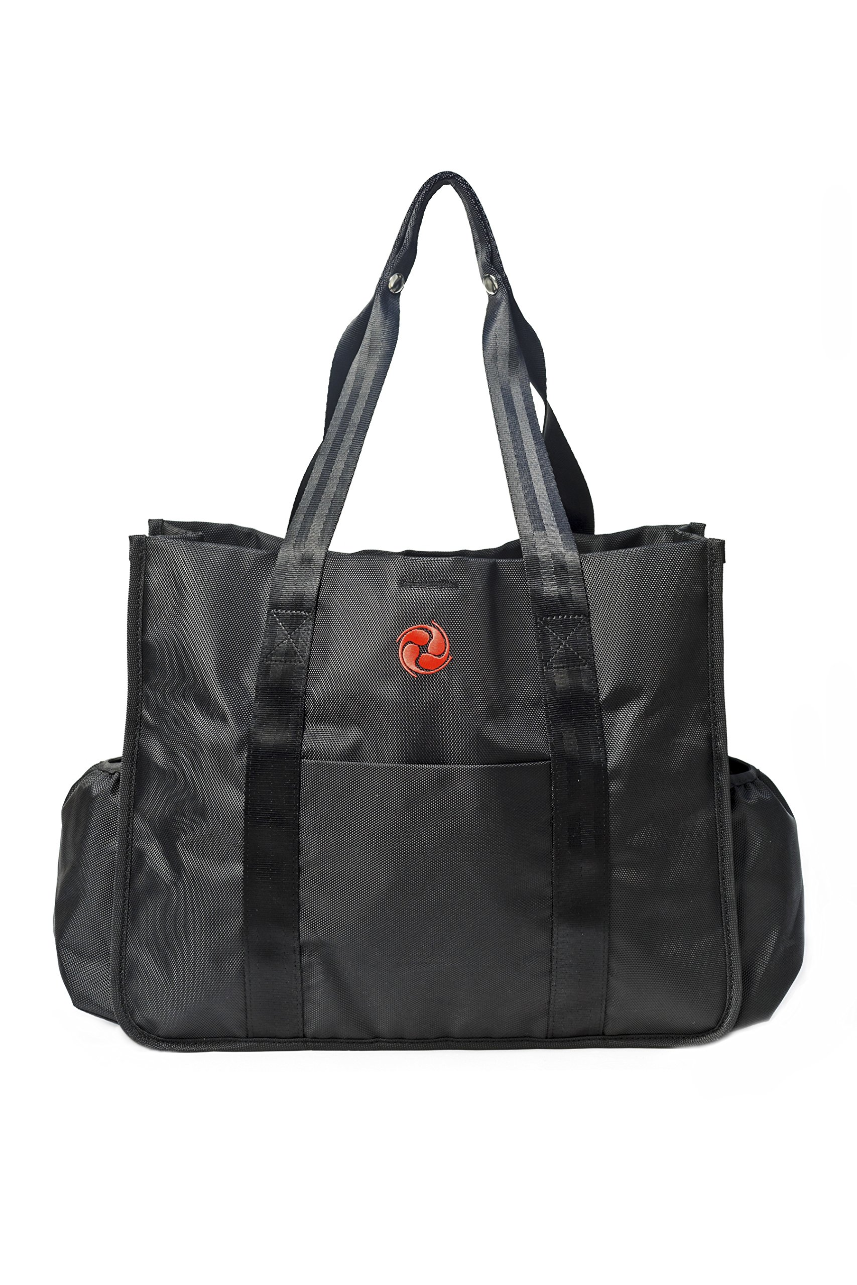Best Premium Gym Tote Bag by Live Well 360 - Made from Ballistic Nylon - Multiple Compartments - High Quality and Durable Material for Perfect Fitness and Athletic Tote Bag, Diaper Bag, & Work Bag