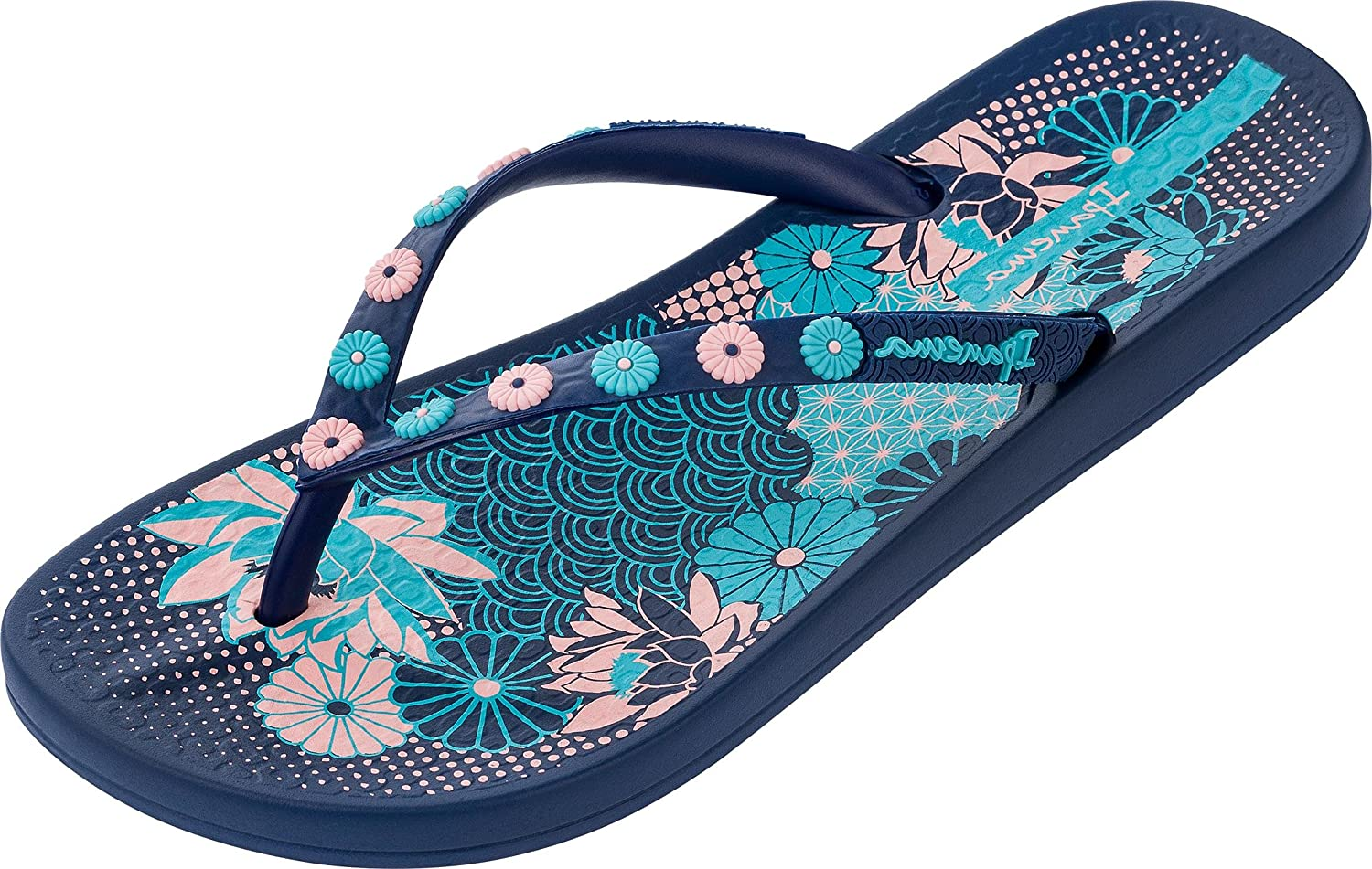 2b67f9d066ee Ipanema Women s Anatomic Lovely Vi Flip Flops  Amazon.co.uk  Shoes   Bags