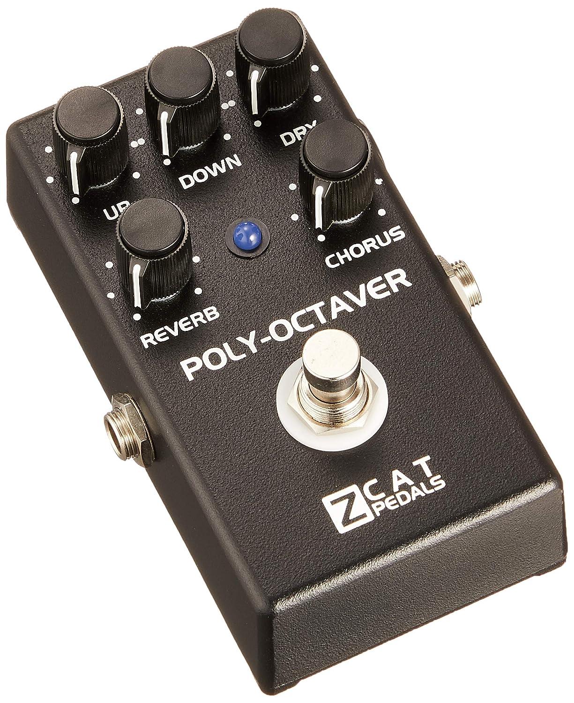 ZCAT Pedals ジーキャットペダル ポリーオクターバー ギターエフェクター Poly-Octaver 2   B00OTBVX0C