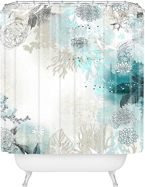 Deny Designs 16071 Shocur Iveta Abolina Seafoam Shower Curtain 69 X 72 Home Kitchen