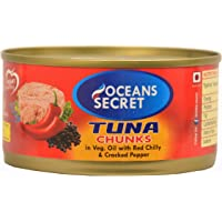 Oceans Secret Canned Tuna in Chilly Pepper, 180g