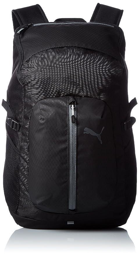 Puma 30 Ltrs Black Casual Backpack (7440201)  Amazon.in  Bags ... a9645e48e8da0