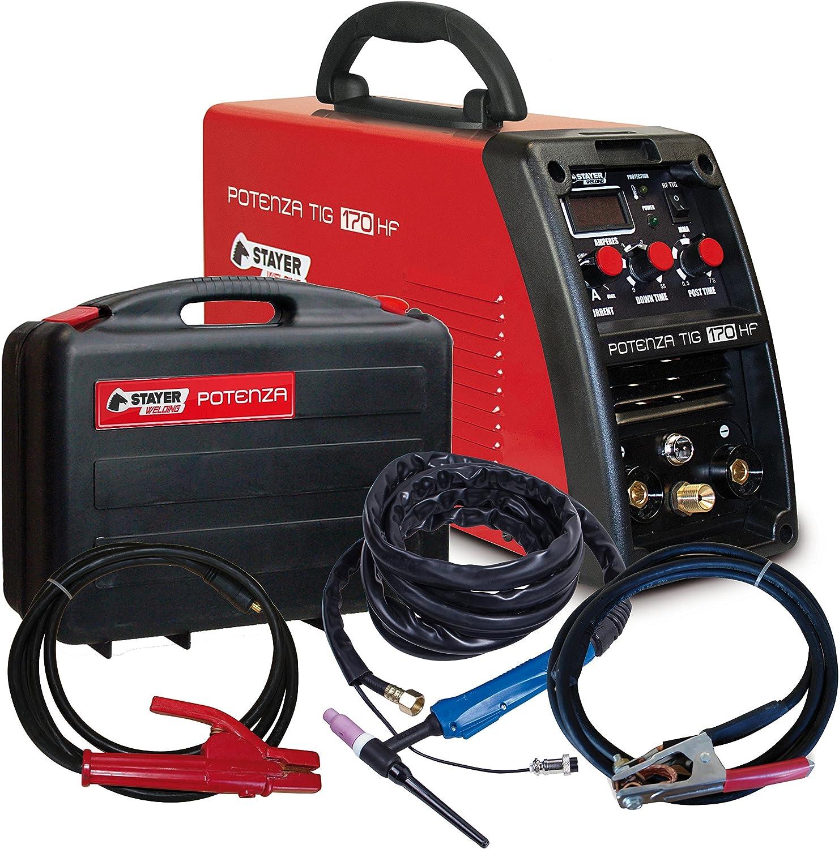 Stayer 2.317 Inverter Industrial Electrodo Potenza TIG 170 HF