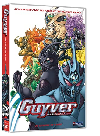 Amazon.com: Guyver: The Complete Series (Viridian Collection ...