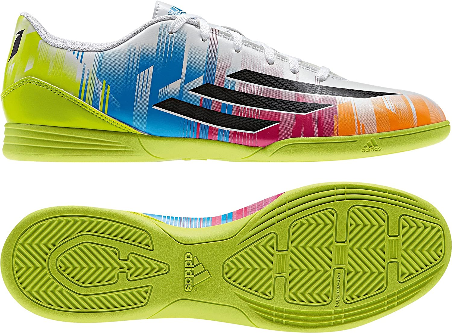 F32741 Adidas F5 IN Messi White 42 23 UK 8,5: