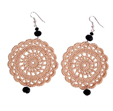 Buy Hemdar Collection Handmade Earrings Handmade Earings Crochet