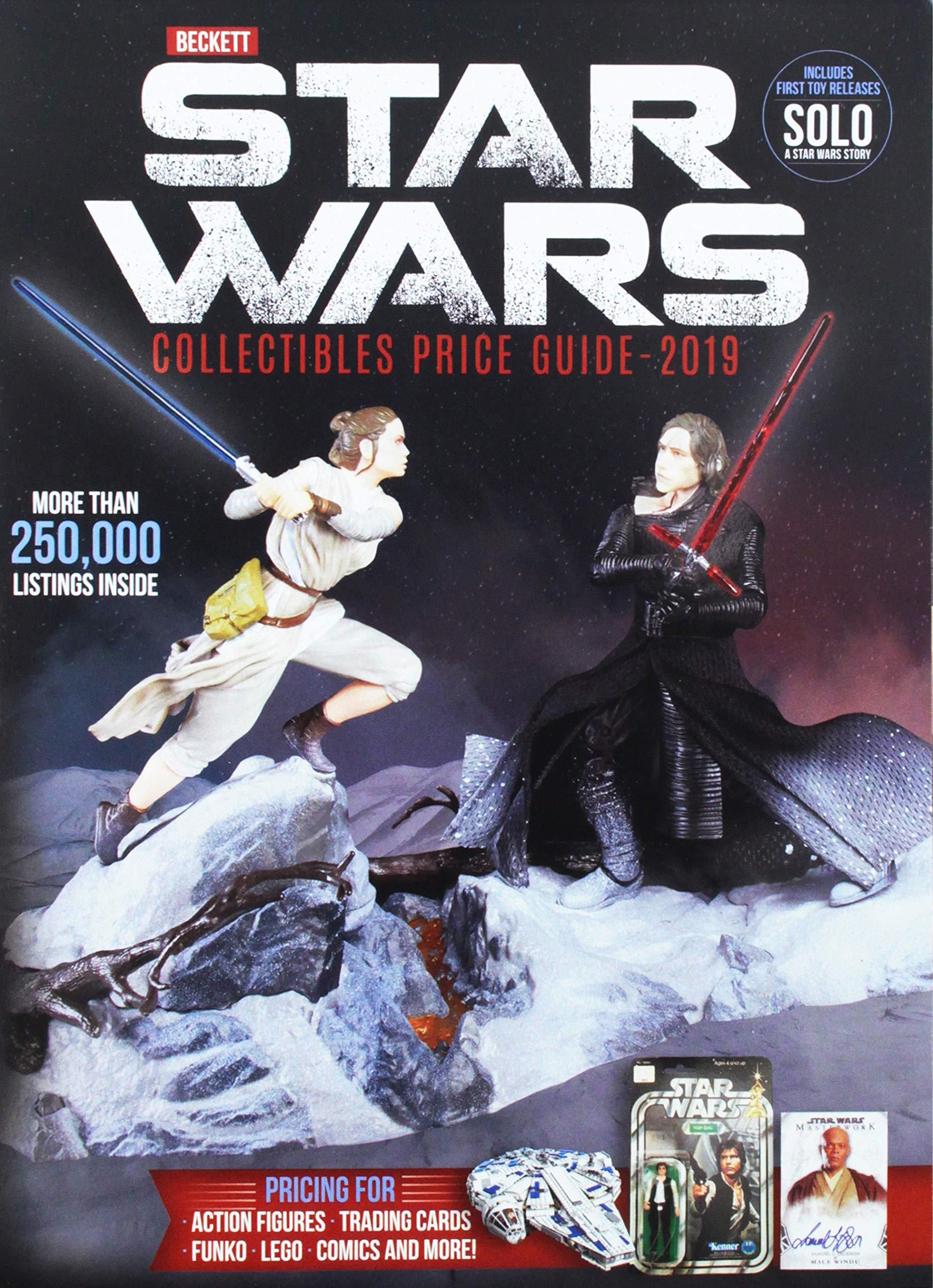 Beckett Star Wars Collectibles Price Guide 2019 Bible Matt Beckett Price Guide Staff 9781936681211 Amazon Com Books