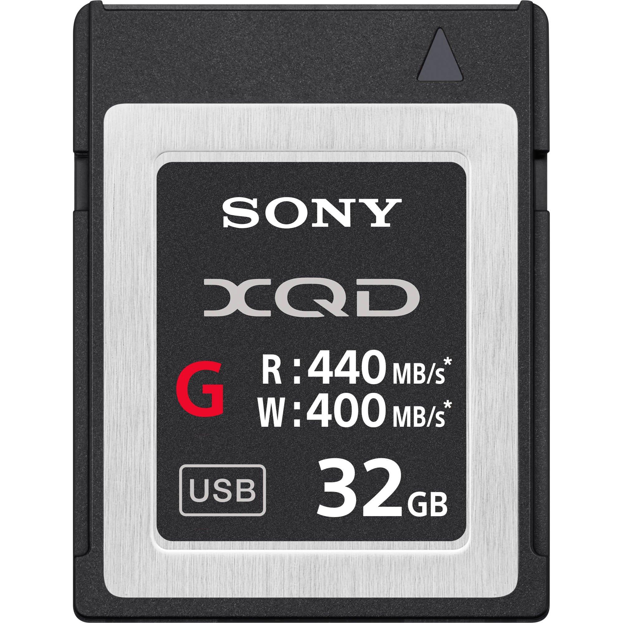 Sony Professional XQD G Series 32GB  Memory Card (QDG32E/J)
