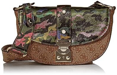 Sacs 5x13x8 Bandoulière 20 Femme camouflagecmo Guess Florence Multicolore 6Pw1B