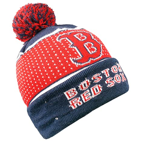 bc4c50ecb20 Image Unavailable. Image not available for. Color  Forever Collectibles MLB  Boston Red Sox Big Logo Knit Light Up Beanie Hat
